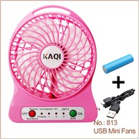 Hot-Sale High Performance DC 5V Portable Mini USB Fan, Rechargeable USB Fan, USB Mini Fan