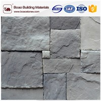 Building Hand Made Stacked Vitage Stones Exterior Wall Decoration