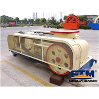 Small Size Double Roll Crushers/Double Teeth Roller Crusher Capacity