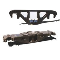Railway Casting Steel Side Frame & Bolster for Bogie