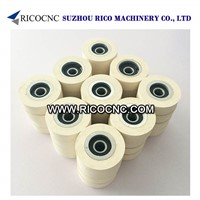 Rubber Pressure Roller Wheels with Bearing for Edge Banding Machine