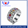 Fine Jewelry Zircon Micro Plated Finger Rings.
