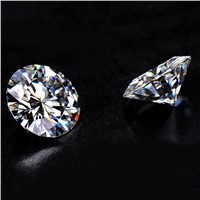 China Factory Wholesale 8 Hearts & Arrows Machine Cut Sparkle White Diamond Loose Moissanite