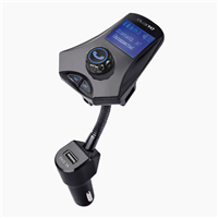 GXYKIT Bluetooth Handsfree Car FM Transmitter M7 Car MP3 Player with LCD Screen