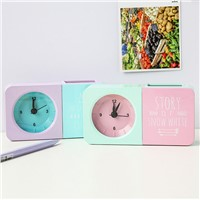 New Version Creative Pen Holder Hit Color Alarm Clock
