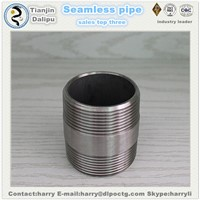 Stainless NPT Thread Fittings Long Nipples Npt Thread Pipe Nipple