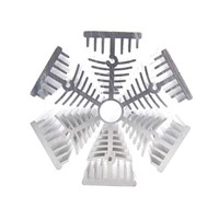 HEXAGONAL HEAT SINK ALUMINUM PROFILE