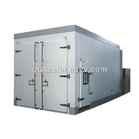 Walk-in Environmental Temperature Humidity Chamber Assembled & Integrated On-Site