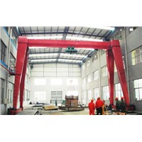 High Quality 20 Ton Single Girder Trestle Hoist Gantry Crane Bridge Machine
