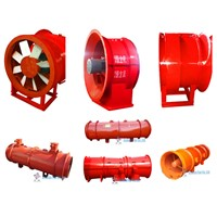 China Industrial Mining Ventilation System Fan