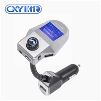 GXYKIT Bluetooth MP3 Player Car FM Transmitter M8 USB Charger Car Music Player