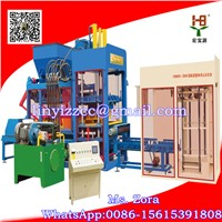 QTJ10-15 Full Automatic Brick Making Machine