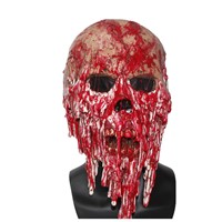 X-MERRY TOY Latex Horror Mask Screaming Corpse Overhead Mask Scary Bloody Costume Cosplay X14075