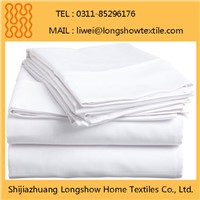 100% Polyester Bed Sheet Hotel Hospitality Guest Rooms Beddings Microfiber Sets