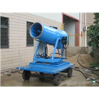 40mspray Distance 11KW Quarry Dust Control Remote Control Fog Machine Pump