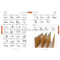 Aluminum Extrusion Profile for Kitchen Cabinet