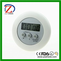 Count Down Digital Round Mini Timer