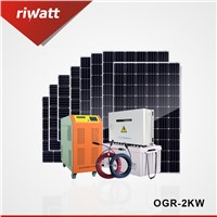 2 KW off Grid Solar Home Power System