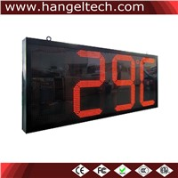 24 Inches Digit Outdoor Water Proof LED Large Temperature Display