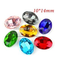 Navette Glass Beads Point Back Crystal Beads In Colors (PB-Navette)