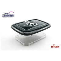 New Fashion BPA Free Container Tritan Material Non-Toxic Vacuum Food Storage Container