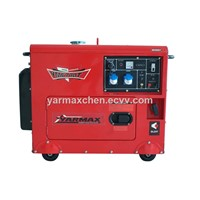 7kva Electric Start Diesel Generator, Silent Type, with 192F Engine