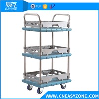 YCWM1707-0076 Medical Trolley Cart with 300kg