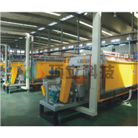 Continuous Carbonization Furnace Used for the Continuous High Temperature Carbonization under Controlled Atmosphere