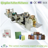 Roll Square Bottom Automatic Shopping Paper Bag Making Machine
