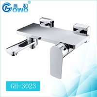 Europe Style Chrome Surface Brass Material Bath Shower Mixer