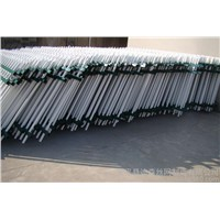 Zinc Steel Fence Rail Fence Temporary Isolation