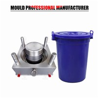 Plastic Injection Molding 50L Bucket Mold Huangyan Suppler