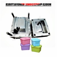 Best Selling Products Plastic Injection Mold Rattan Storage Container Mold Made In China