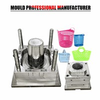 Plastic Injection Mould Plastic Laundry Basket Mould Made In China