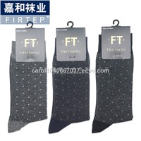 2017 New Men Crew Dress Socks / Spot of Style/ China Manufacturer