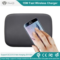 16 Coils Fast Wireless Charger with Supports both on Android & IOS System