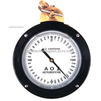 AOI Gauges Pressure, STANDPIPE TYPE, F,0-10000 PSI 102670-104