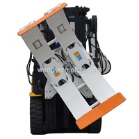 Forklift Attachment Paper Roll Clamp