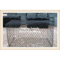 Foldable Wire Mesh Gabion Box PVC Coated