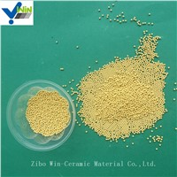 High Purity Golden Cerium Zirconia Grinding Media for Basket Mill