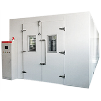 Stability Modular Walk-in Environmental Test Chamber Assembled & Integrated On-Site
