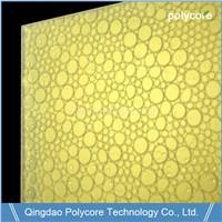 Light Transmission Waterproof Fire Proof Honeycomb Sandwich Panel