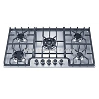 High Quality Home Appliances European 60cm Tempered Glass 4 Burners Gas Hob