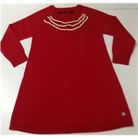Kid Knitted Sweater Dress Supplier