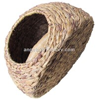 Wholesales Factory Washable PE Plastic Rattan Dog House