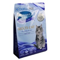 Flat Bottom Box Pouch Zipper Bag Pet Food Package Bag