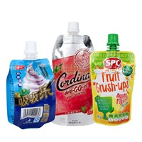Juice Packaging Beverage Packaging Stand up Spout Pouch