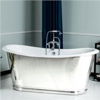 Cast Iron Bathtubs with Skirted
