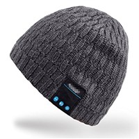 Knitted Winter 100% Acrylic Bluetooth Beanie Hat