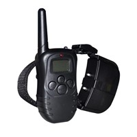 Remote 300m Pet Training Collar Vibrating & Shock Dog Collar Anti Bark PET998D-1